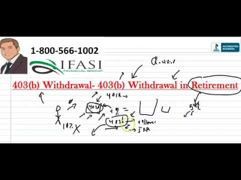 403b Withdrawal - 403 b Withdrawal