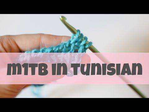 How To m1tb In Tunisian Crochet