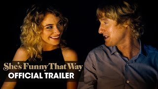 She's Funny That Way (2015 Movie – Owen Wilson, Imogen Poots) – Official Trailer