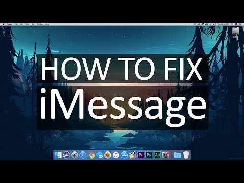 How to fix iMessage and Facetime // 2018