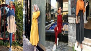200863040 تنسيق ملابس محجبات للصيف و الربيع Hijab dresses for spring and summer