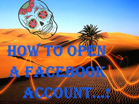 How to open a facebook account using gmail account
