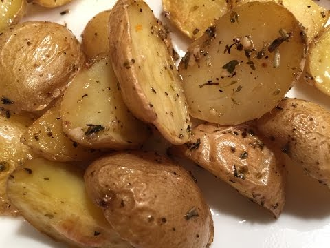 Roasted Baby Dutch Potatoes