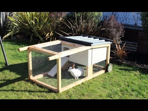 How to build a house-on-wheels for rabbits, guinea pigs & other small animals