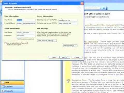 Tutorial - Change reply E-Mail Address in Outlook