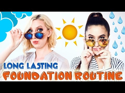 Long Lasting Foundation Routine For Oily & Dry Skin | #SHARIMA