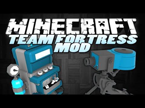 Minecraft Mods | SENTRY MOD (TF2) |