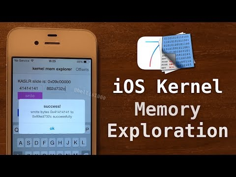 iOS Kernel Memory Manipulation - Using vm_write() & vm_read() to Patch Live Kernel Memory!