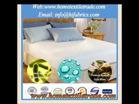 New Quality Waterproof Terry Cloth Surface Hotel Mattress Cover
