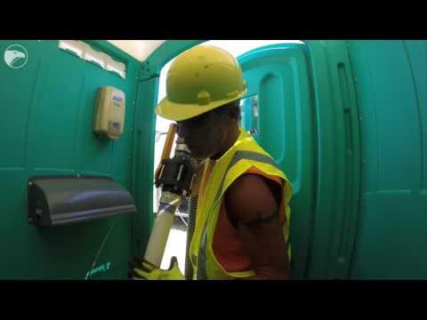 Inside Wichita: Cleaning a Porta-Potty