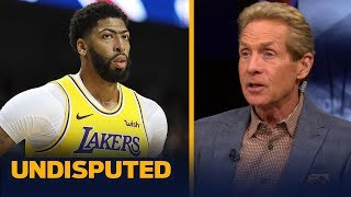 Anthony Davis playing with LeBron 'disqualifies' him from winning MVP — Skip | NBA | UNDISPUTED