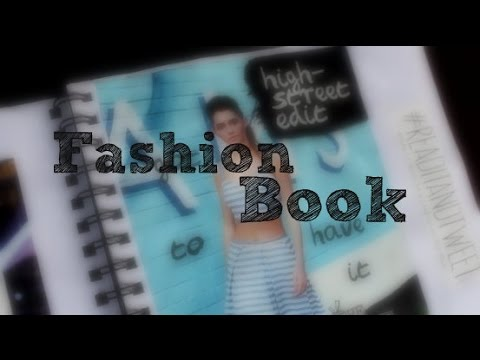 How to: Create a Fashion Book | keri leanne.