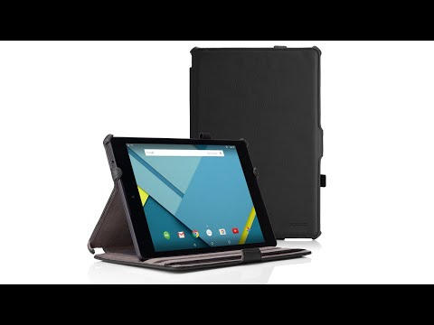 MoKo Black Slim-Fit Nexus 9 Case Unboxing