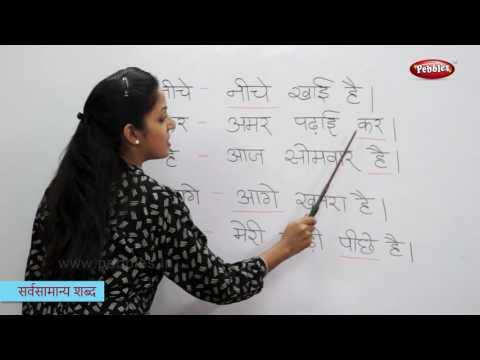 Reading Basic Hindi Words, Sentences   हिन्दी शब्द   Sight Words in Hindi   Hindi Phonics