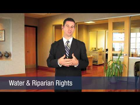 Water & Riparian Rights