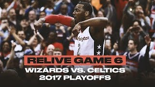 John Wall's Game 6 Dagger vs. The Celtics Was Ice Cold | 2017 Playoffs Rewind