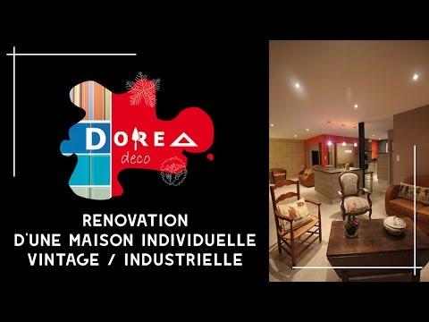 Rénovation Vintage / Industrielle d'une maison de 125m² par DOREA Déco (Fin le 12/12/12 à 12h12)