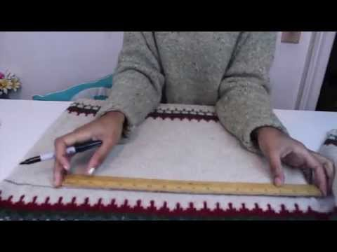 DIY Fashion: No Sew Infinity Sweater Scarf
