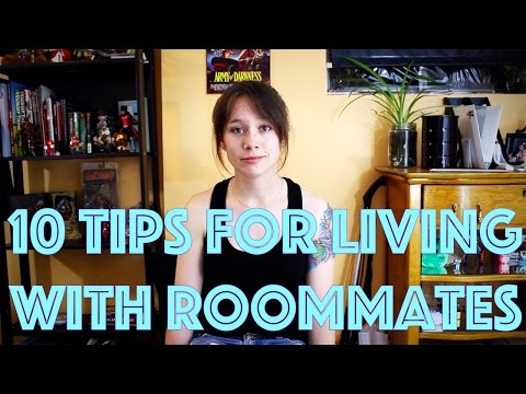 10 Tips for Living with Roommates