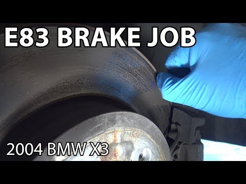 BMW X3 E83 Complete Brake Job