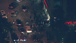 Protests turn into riots as curfew in effect until 6 a.m. Sunday