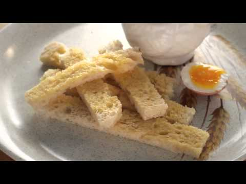 kids boiled egg & soldiers