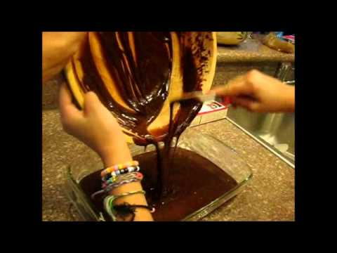 how to make brownies ( with brownie mix)