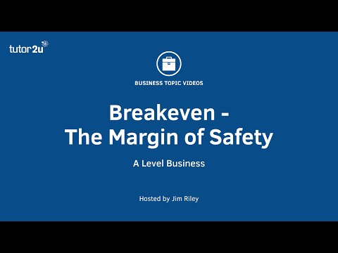 Breakeven Analysis - the Margin of Safety