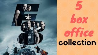 The Fate of the Furious  Box Office Collection in India