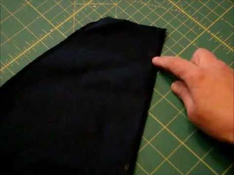 Sewing Side Seam Pockets into a Pants Pattern