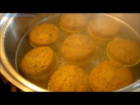 Steamed Banana Cupcakes - Pinoy Dessert Recipes