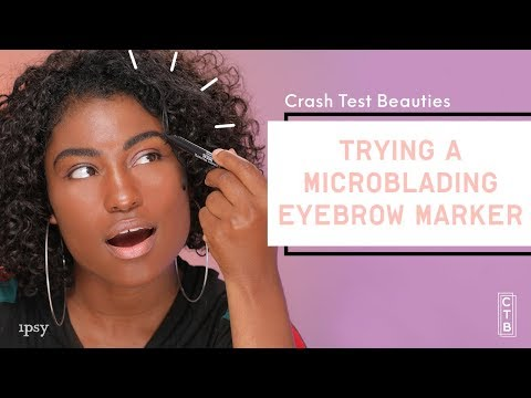 We Tried a Microblading Brow Marker Pen   Crash Test Beauties