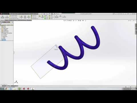 SOLIDWORKS Quick Tip - Creating a Plane Normal to End of Curve