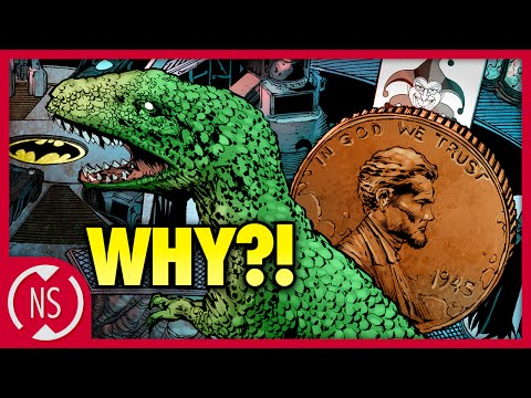 Why Does BATMAN Have a Giant Penny and Dinosaur in the Batcave? || Comic Misconceptions || NerdSync