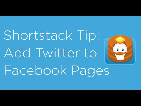 How to add Twitter to your Facebook Page using Shortstack