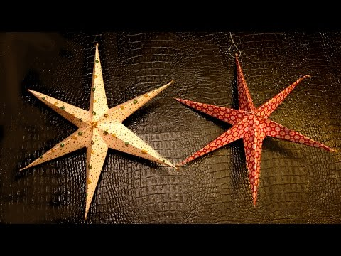DIY Christmas Star | How to Make | Very Easy