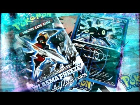 Pokemon Plasma Freeze Booster Pack Opening Part 1