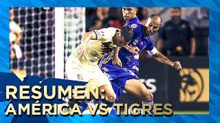 Resumen y goles América 2(3)-(5)2 Tigres Semifinal Leagues Cup