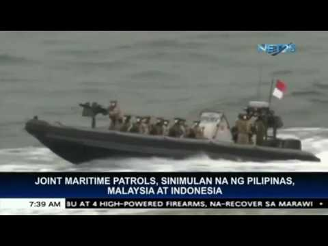 Indonesia, Malaysia, Philippines launch naval patrols