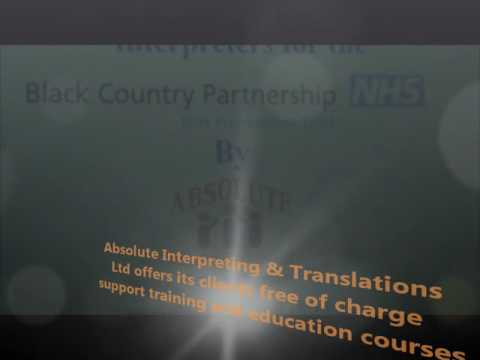 Training on How to Working with Interpreters