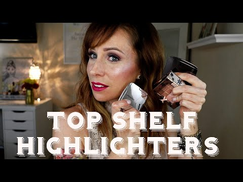 MY TOP SHELF HIGHLIGHTERS | EVERYDAY, SPECIAL OCCASION & WEDDING DAY RECS TOO!