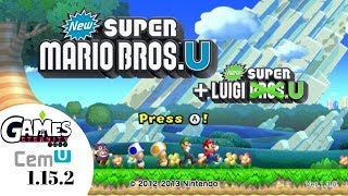 Cemu 1 15 1e New Super Mario Bros U Crash Fix Videos - 9tube tv
