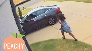 [1 Hour] CAUGHT IN THE ACT | Funniest Security Camera Fails | Funny Moments 😂
