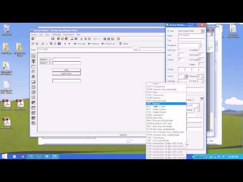 ABAP: Creating Screens
