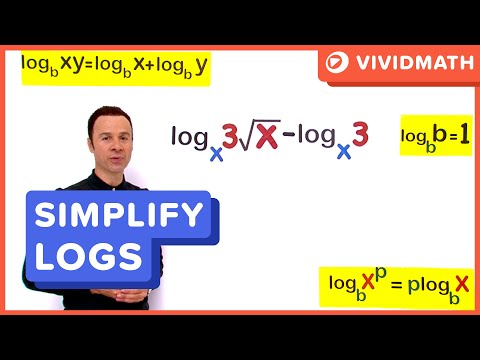 03 Simplifying With Laws Of Logarithms 07a - VividMaths.com