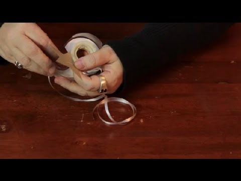 How to Attach Paper Decorations to the Ceiling : Assorted Crafts