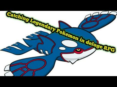 How to get Legendary Pokemon in delugerpg (not hack)