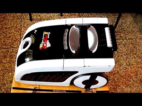 Full Demo of Eureka Forbes Vacuum Cleaner Euroclean X-Force - HD Video