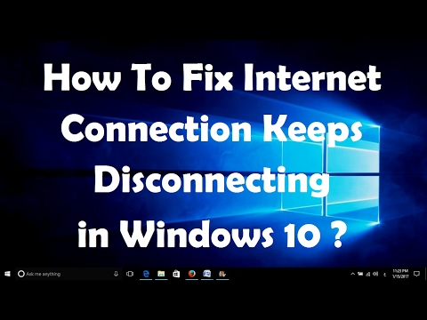 How To Fix Internet Connection Keeps Disconnecting in Windows 10 - One Very Simple Fix..!!