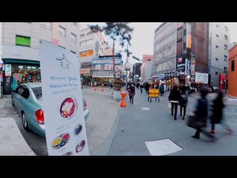Visit Seoul Attractions Through VR [Hongdae, Insadong and N Seoul Tower]